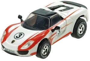 Darda Motor Darda Auto Porsche 918 Spi- der, ca. 8 cm, 1:60, Kunststoffgehäuse 31950344