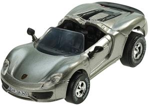 Darda Motor Darda Auto Porsche Cabriolet Spider 918, 8 cm, 1:60, Kunststoffgehäuse 31950345