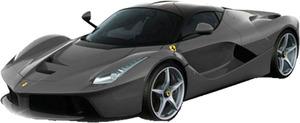 Mattel La Ferrari F150, gelb, 1:43 Neuheit 2013, Elite Qualität 32000081