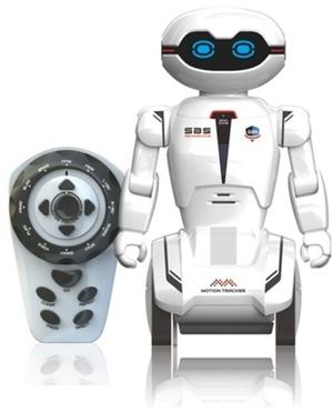 Silverlit Roboter Macrobot 20 cm, IR Sensoren, mit App und Fernbedienung, ab 5+