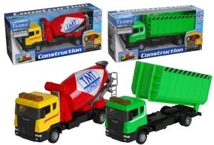 Teama Toys Bau-LKW Scania 6-fach (eines wird geliefert ass. 1:48, 17.4 cm, Metall/Plastik, ab 3 Jahren 33610842