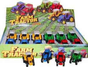 Postler Traktor mit Rückzugmotor Spritzguss, im Display ab 3 Jahren 33630702