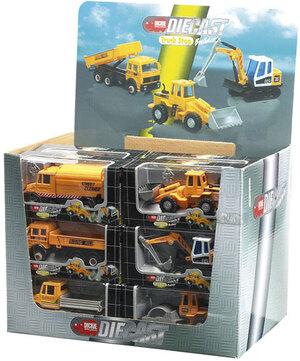 Baufahrzeuge, 12 cm, 6-fach (eines wird geliefert) 33640833
