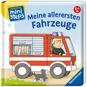 Ravensburger Meine allerersten Fahrzeuge Pappbuch, 13.7x13.7 cm, 18 Seiten, ab 6 Monaten 40104100