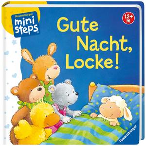 Ravensburger Gute Nacht, Locke! Pappbuch, 16.7x16.7 cm, 20 Seiten, ab 12 Monaten 40104101