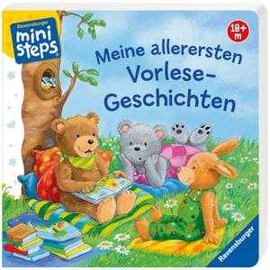 Ravensburger Erste Vorlesegeschichten Pappbuch, 19x19 cm, 24 Seiten, ab 18 Monaten 40104104
