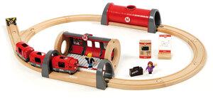 BRIO Metro Bahn Set 20 Teile, 660x450 mm, mit Licht und Sound 40233513