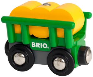 BRIO Heuwagen mit Kippfunktion 2-teilig, 66x38x49 mm, ab 3+ 40233895