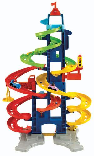 Fisher-Price Fisher-Price Hochhausrennbahn H: 90 cm, ab 18 Monaten, für stundenlangen Spielspass 40300034