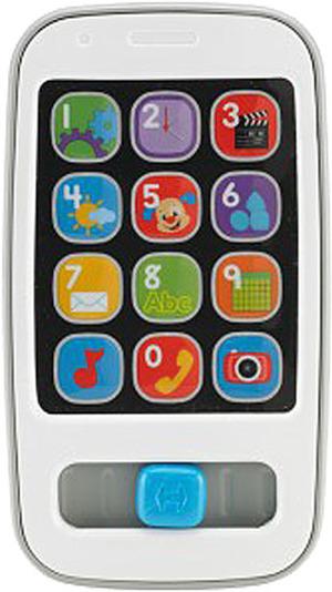 Fisher-Price Lernspass Smart Phone, d mit vielen Liedern, Sätzen und Zahlen, ab 6 Monaten