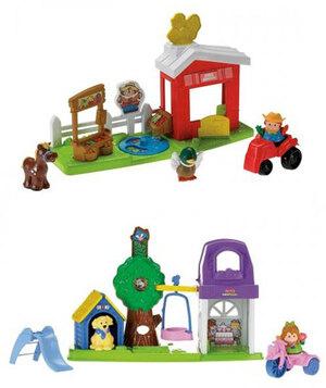Fisher-Price Fisher-PriceSpielset 2er Sortiment, eines wird geliefert Mattel 40306928