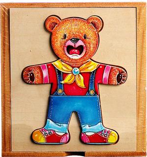 Bären Holzpuzzle HYJHB1 41002004