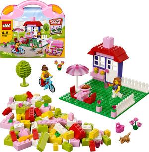 LEGO Pinkfarbener LEGO® Koffer 10660