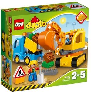 LEGO Bagger & Lastwagen Lego Duplo, 2-5 Jahre 10812