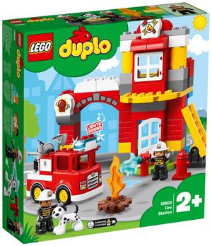 LEGO Feuerwehrwache Lego Duplo, 76 Teile ab 2+ 10903