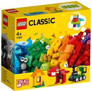 LEGO Bausteine Erster Bauspass Lego Classic, 123 Teile, ab 4+ 11001A1
