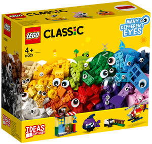 LEGO Bausteine Witzige Figuren Lego Classic, 451 Teile, ab 4+ 11003A1