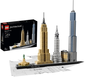 LEGO New York City Lego Architecture, ab 12 Jahren, 26x25x4 cm 21028