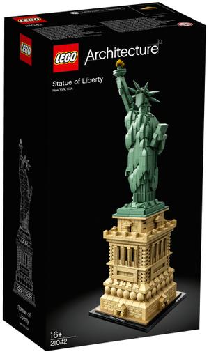 LEGO Freiheitsstatue Lego Architecture, 1685 Teile, ab 16 Jahren 21042A1