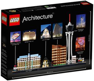 LEGO Las Vegas Lego Architecture, 27x19 cm, ab 12 Jahren 21047