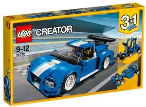 LEGO Turborennwagen Lego Creator, 9-12 Jahre 31070