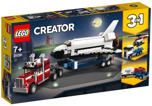 LEGO Transporter Space Shuttle Lego Creator, 341 Teile, ab 7+ 31091