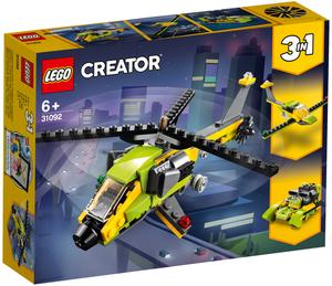 LEGO Hubschrauber-Abenteuer Lego Creator, 114 Teile, ab 6+ 31092