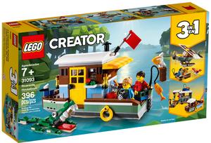 LEGO Hausboot Lego Creator, 396 Teile, ab 7+