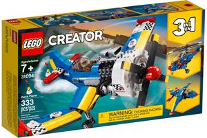 LEGO Rennflugzeug Lego Creator, 333 Teile, ab 7+ 31094
