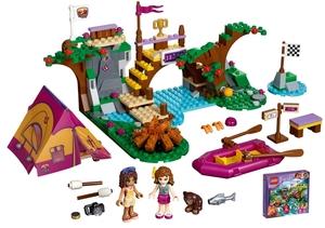 LEGO Abenteuercamp Rafting Lego Friends, 6-12 Jahre 41121A1