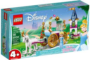 LEGO Aschenputtels Kutsche Lego Disney, 91 Teile, ab 4+ 41159A1