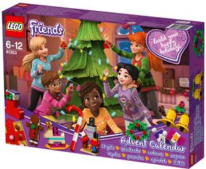 LEGO Adventskalender Lego Friends mit Weihnachtsschmuck, ab 6 Jahren 41353A3