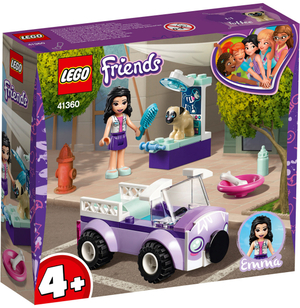 LEGO Emmas mobile Tierarztpraxis Lego Friends, 50 Teile, ab 4+ 41360