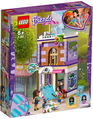 LEGO Emmas Künstlerstudio Lego Friends, 235 Teile, ab 6+ 41365