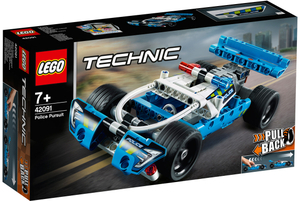 LEGO Polizei-Verfolgungsjagd Lego Technic, 120 Teile, ab 7+ 42091A1