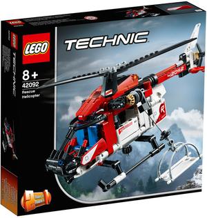 LEGO Rettungshubschrauber Lego Technic, 325 Teile, ab 8+