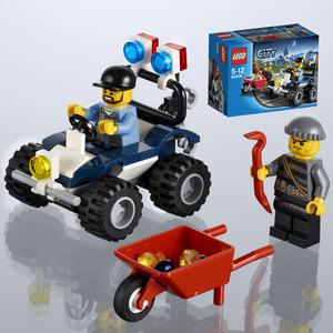 Polizei-Quad Lego City, 5-12 Jahre 60006