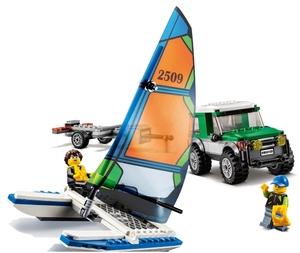 LEGO Geländewagen mit Katamaran 60149