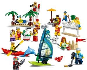 LEGO Stadtbewohner - Ein Tag am Strand, Lego City, ab 5 Jahren 60153A1
