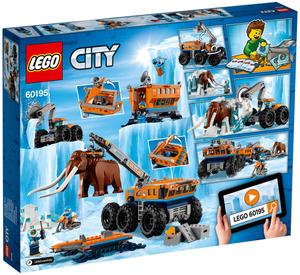 LEGO Mobile Arktis-Forschungs- Station, Lego City Arktis, ab 7 Jahren 60195
