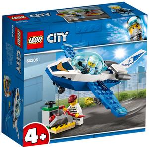 LEGO Polizei Flugzeugpatrouille Lego City, 54 Teile, ab 4+ 60206