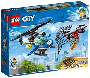 LEGO Polizei Drohnenjagd Lego City, 192 Teile, ab 5+ 60207