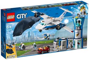 LEGO Polizei Fliegerstützpunkt Lego City, 529 Teile, ab 6+ 60210A1
