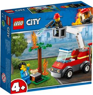 LEGO Feuerwehr beim Grillfest Lego City, 64 Teile, ab 4+ 60212A1