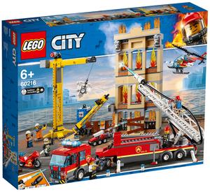 LEGO Feuerwehr in der Stadt Lego City, 943 Teile, ab 6+ 60216