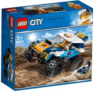 LEGO Wüsten-Rennwagen Lego City, 75 Teile, ab 5+ 60218