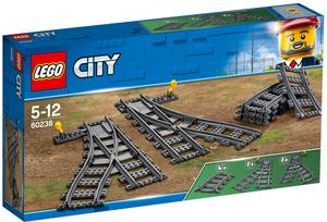 LEGO Weichen Lego City, 8 Teile, ab 5 Jahren 60238