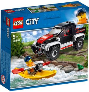 LEGO Kajak-Abenteuer Lego City, 84 Teile, ab 5+ 60240