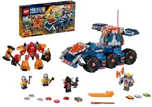 LEGO Axls rollender Wachturm Lego Nexo Knights, 8-14 J. mit 4 Minifiguren 70322