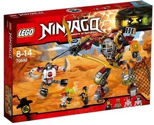 LEGO Schatzgräber M.E.C Lego Ninjago, 8-14 Jahre, inkl. 4 Minifiguren 70592